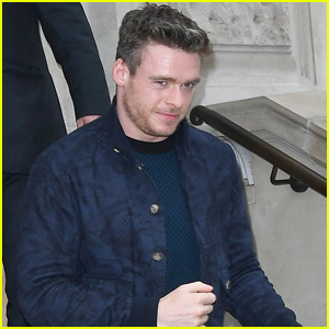 Richard Madden Steps Out on His Birthday in London!