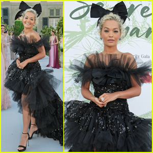 Rita Ora Joins Elsa Hosk & Natalia Vodianova at The Secret Garden Gala!