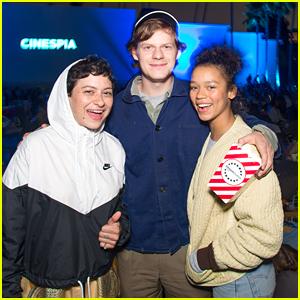 Lucas Hedges, Alia Shawkat, Rowan Blanchard & More Screen 'Princess Mononoke' at Cinespia