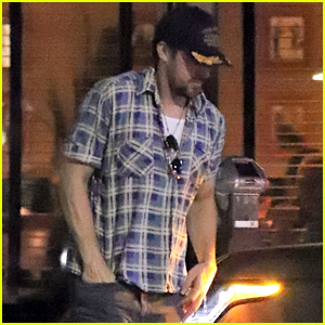 Ryan Gosling Heads to Dinner With a Friend at Little Dom's