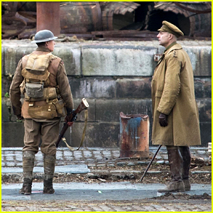 Sam Mendes' '1917' Movie Kicks Off Filming - See Set Photos!