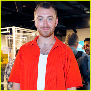 Sam Smith Steps Out Solo for Queer Britain x Levi's 'Chosen Family' Photography Exhibition!