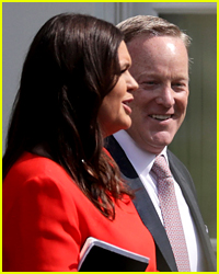 Sean Spicer Sends a Message to Sarah Sanders