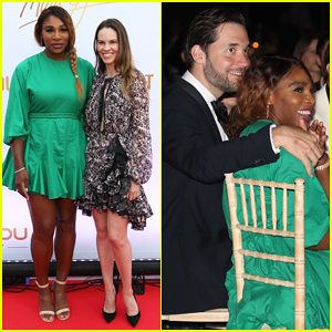 Serena Williams & Alexis Ohanian Couple Up for Mouratoglou Tennis Academy Charity Gala!