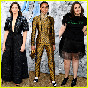 Felicity Jones, FKA twigs, Lena Dunham, & More Attend Serpentine Gallery's Summer Party!