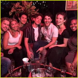 Seven Former 'Glee' Stars Get Together for a Reunion!