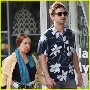 Shia LaBeouf Celebrates 33rd Birthday with His Mom!