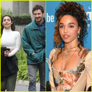 Shia LaBeouf's Relationship with FKA twigs is 'On Hold' as He Spends Time with Mystery Brunette