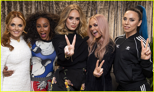 Adele Meets the Spice Girls at Their Final Show!