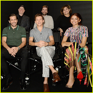 Spider-Man: Far From Home' Cast Hosts Facebook Live Photo