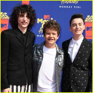 Finn Wolfhard, Gaten Matarazzo, & Noah Schnapp Buddy Up for MTV Movie & TV Awards 2019!