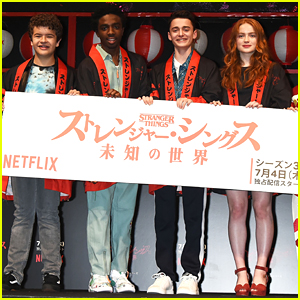 Noah Schnapp & 'Stranger Things' Co-Stars Jet to Tokyo For Premiere Event