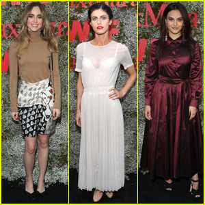 Suki Waterhouse, Alexandra Daddario, & Camila Mendes Arrive in Style for Max Mara Face of the Future Event