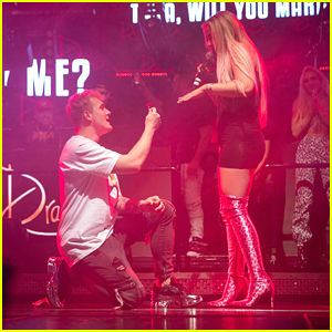 Jake Paul First Proposed To Tana Mongeau With A Ring Pop