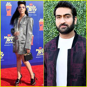 Tessa Thompson & Kumail Nanjiani Attend MTV Movie & TV Awards 2019!