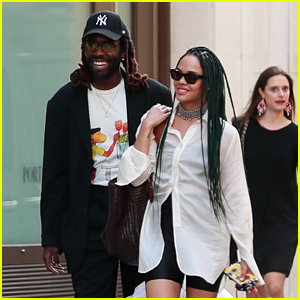 Tessa Thompson & Rumored Beau Dev Hynes Step Out in Paris