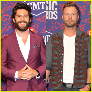 Thomas Rhett & More Country Hunks Step Out for CMT Music Awards 2019!