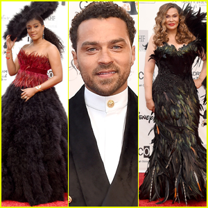 Tiffany Haddish & Jesse Williams Join Host Tina Lawson at Wearable Art Gala 2019