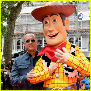 Tom Hanks Brings 'Toy Story 4' to London!