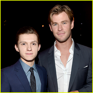 Chris Hemsworth 'Made a Call' to Help Tom Holland Land Spider-Man Role