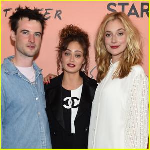 Tom Sturridge, Ella Purnell, & Caitlin FitzGerald Attend 'Sweetbitter' Season Two Premiere