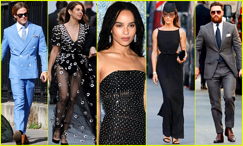 The Fashion at Zoe Kravitz's Wedding Proves She Has the Most Stylish Friends