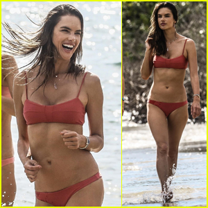 Alessandra Ambrosio Shows Off Her Hot Bikini Body in Brazil!