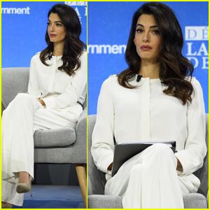 Amal Clooney Criticizes Donald Trump's Treatment of the Media