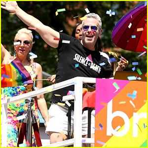 Andy Cohen's 'Real Housewives' Stars Join Him on Bravo's World Pride Float!