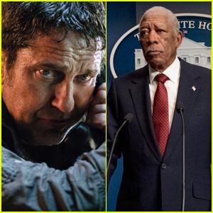Gerard Butler & Morgan Freeman Star in 'Angel Has Fallen' - Watch the Trailer!