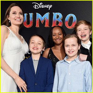 Here's How Angelina Jolie's Six Kids Reacted to Her Marvel Movie Role!