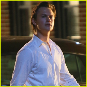 Ansel Elgort Hits the Streets While Filming 'West Side Story'