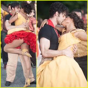 Ariana DeBose & David Alvarez Film 'West Side Story's Iconic 'America' Scene