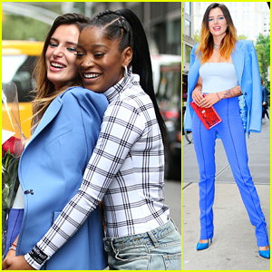 Bella Thorne Joins Longtime Pal Keke Palmer For Lunch in NYC