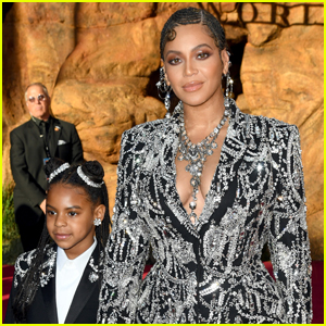 Beyonce Brings Daughter Blue Ivy to 'The Lion King' Premiere!