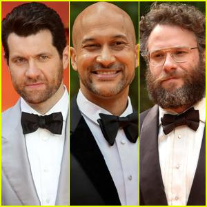 Billy Eichner, Keegan-Michael Key, & Seth Rogen Bring 'The Lion King' to London!