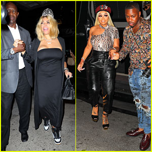Blac Chyna Attends Wendy Williams' 55th Birthday Party at Serendipity in NYC