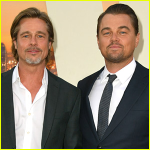Brad Pitt Jokes About Why He's Never Wanted to Work with Leonardo DiCaprio Before