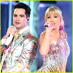Brendon Urie Stands Up for 'Me!' Collaborator Taylor Swift