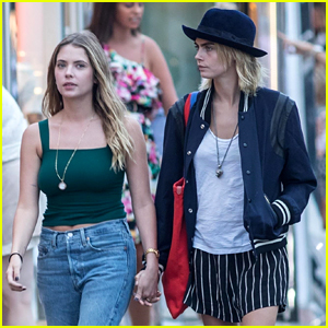 Cara Delevingne Ashley Benson Engagement Rumors Are Swirling See