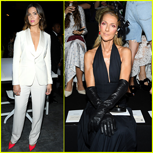 Celine Dion & Mandy Moore Do Double Duty at Paris Fashion Week