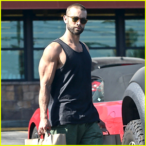 Chace Crawford Shows Off His Muscular Physique While Shopping in Los Feliz