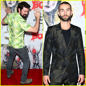 Chace Crawford & Karl Urban Attend 'The Boys' Premiere at Comic-Con!