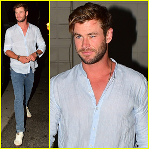 Chris Hemsworth 'Can't Wait' To Get Started on 'Thor: Love and Thunder'!