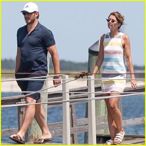 Chris Pratt & Katherine Schwarzenegger Vacation Together With Family in Massachusetts