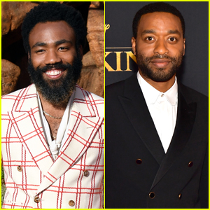 Donald Glover & Chiwetel Ejiofor Suit Up for 'The Lion King' Premiere!