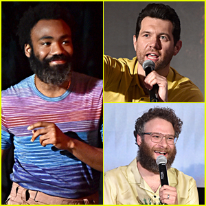 Donald Glover, Billy Eichner, & Seth Rogen Attend 'The Lion King' Press Event!