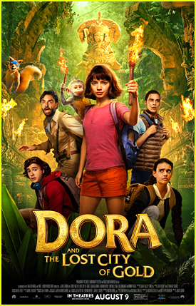 Watch The New Trailer For 'Dora & The Lost City of Gold' With Eva Longoria & Isabela Moner!