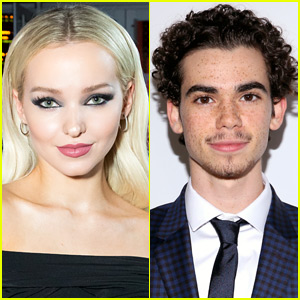 Dove Cameron Posts Tearful Video Tribute To Cameron Boyce Cameron Boyce Dove Cameron Just Jared