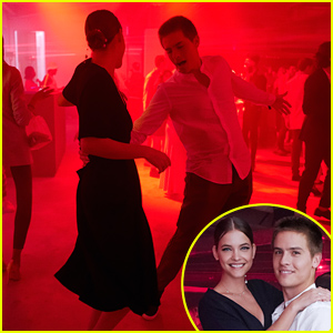 Barbara Palvin & Dylan Sprouse Dance The Night Away at Boss & Porsche's Formula E Party